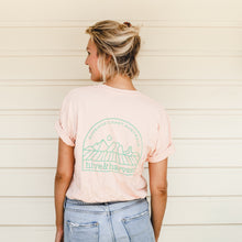 Load image into Gallery viewer, Hive & Harvest Unisex Tee - Pale Pink