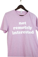 """not remotely interested"" Coffee Convos T"