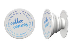 Coffee Convos Blue Ombré Popsocket (PREORDER)