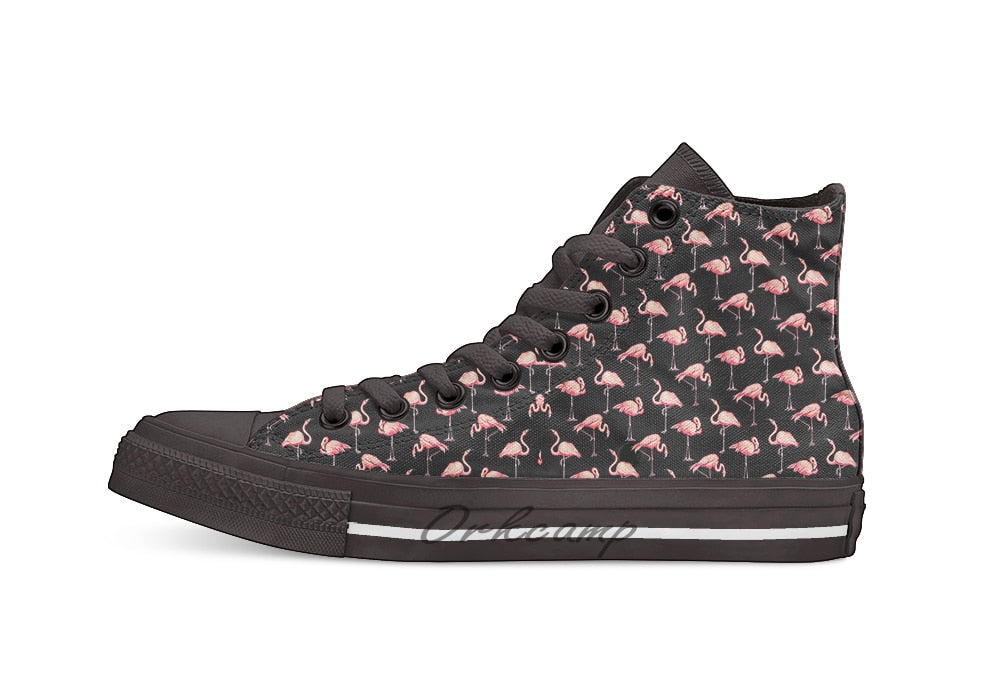 Flamingo Pattern High Top