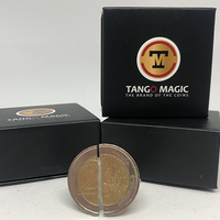 Folding Coin (E0038) (50 Cent Euro, Internal System) by Tango - Trick