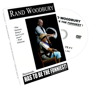 Rand Woodbury Has To Be The Funniest Magician by Rand Woodbury - DVD