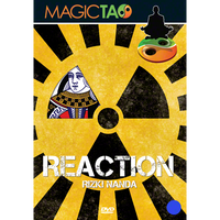Reaction (Blue) DVD and Gimmick by Rizki Nanda and Magic Tao - DVD