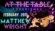 At the Table Live Lecture - Matthew Wright 2/04/2015 video DOWNLOAD