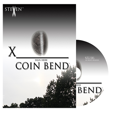 X Coin Bend by Steven X - Trick