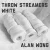 Throw Streamers white (30 Head / 10 pk.) by Alan Wong - Trick