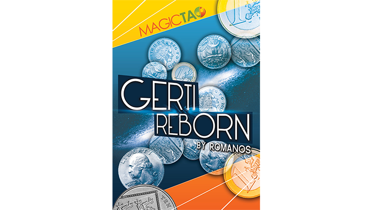 Gerti Reborn US Quarter Version (Gimmick and Online Instructions) by Romanos - Trick