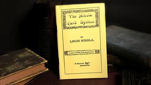 The Nikola Card System by Louis Nikola - Book