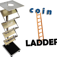 Coin Ladder (Stainless Steel) by Amazo Magic - Trick