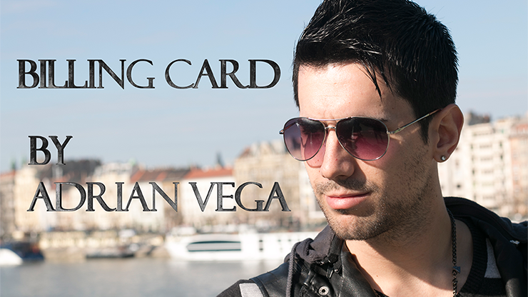Billing Card by Adrian Vega - Trick