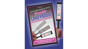 Psychic Card Paddle by Bob Solari - Trick