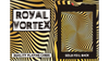Royal Vortex Gold Foil Playing Cards Gemaco