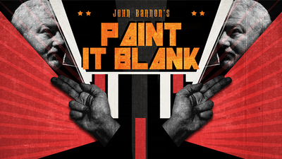 John Bannon's PAINT IT BLANK (Gimmicks and DVD) - DVD