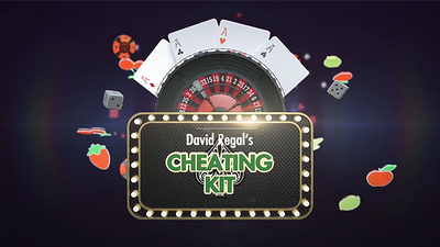 CHEATING KIT (Gimmicks and Online Instructions) by David Regal