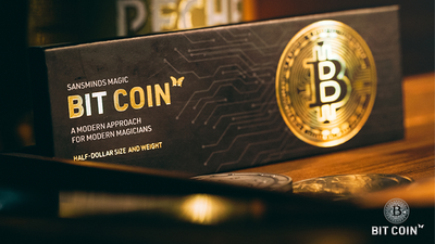 The Bit Coin Gold (3 Gimmicks and Online Instructions) by SansMinds - Trick