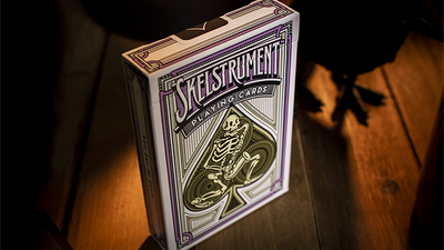 Skelstrument Playing Cards Printed by US Playing Card