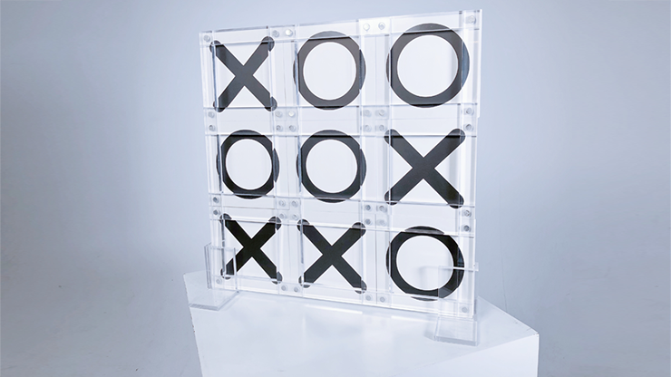 Tic Tac Toe X (Parlor) (Gimmick and Online Instructions) by Bond Lee and Kaifu Wang - Trick