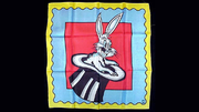 "Rice Picture Silk 18"" (Rabbit in Hat) by Silk King Studios - Trick"