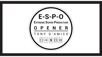E.S.P.O. (Gimmicks and Online Instructions) by Tony D'AMICO and Luca Volpe - Trick
