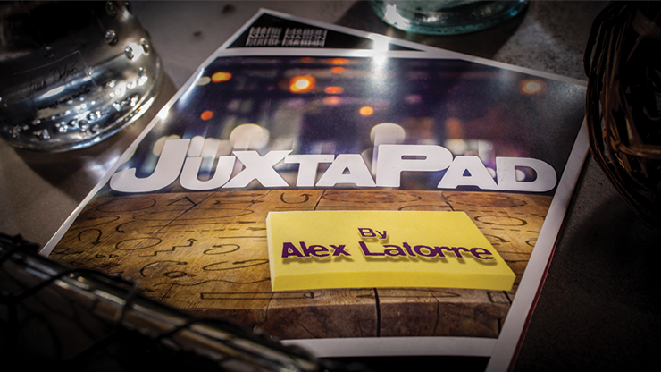 JuxtaPad (Gimmick and Online Instructions) by Alex Latorre and Mark Mason