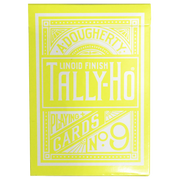 Tally Ho Reverse Circle back (Yellow) Limited Ed. by Aloy Studios / USPCC - Playing Cards - Madanai Magic