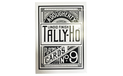 Tally Ho Reverse Circle back (White) Limited Ed. by Aloy Studios / USPCC - Playing Cards - Madanai Magic