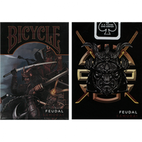 Feudal Samurai Bicycle Playing Cards - Madanai Magic