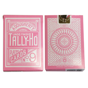 Tally Ho Reverse Circle back (Pink) Limited Ed. by Aloy Studios / USPCC - Playing Cards - Madanai Magic