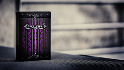 Artifice Second Edition : Purple Playing Cards - Ellusionist - Madanai Magic