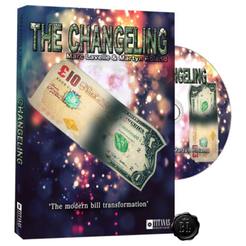 Changeling (DVD and Gimmicks) by Marc Lavelle - Madanai Magic