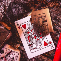 Red Hellions Playing Cards by Ellusionist & Daniel Madison