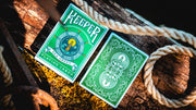 Sea Green Keepers Playing Cards by Ellusionist