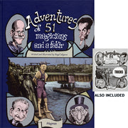 Adventures of 51 Magicians (Book & Pamphlet ) by Angel Idigoras - Book