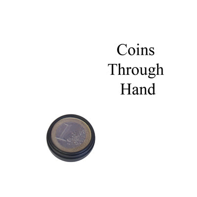 Coins Through Hand by Bazar de Magia - Trick