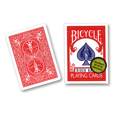 Bicycle Playing Cards (Gold Standard) - RED BACK  by Richard Turner