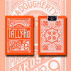 Tally Ho Reverse Fan back (Orange) Limited Ed. by  Aloy Studios / USPCC
