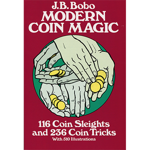 Modern Coin Magic Bobo Book Dover