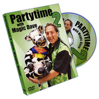 Partytime 2 With Magic Dave by Dave Allen - DVD