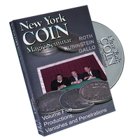 New York Coin Seminar Volume 5: Productions, Vanishes and Penetrations - DVD