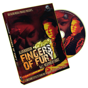 Fingers of Fury Vol.1 (Weapons Of Choice) by Alan Rorrison & Big Blind Media - DVD