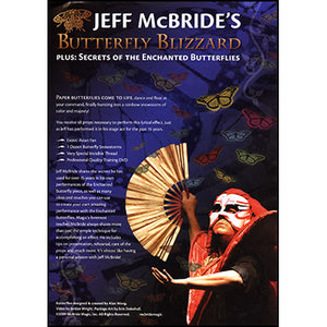Butterfly Blizzard (Props and DVD) by Jeff McBride and Alan Wong - DVD