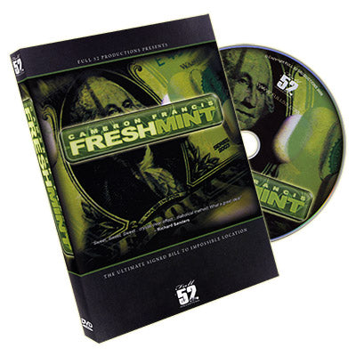 Fresh Mint 2.0 by Cameron Francis - DVD