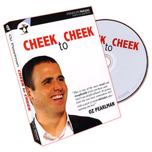 Cheek to Cheek (With Red deck) by Oz Pearlman - DVD