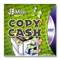 Copy Cash by Peter Eggink and JB Magic - DVD