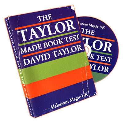 Taylor Made Book Test by David Taylor - DVD