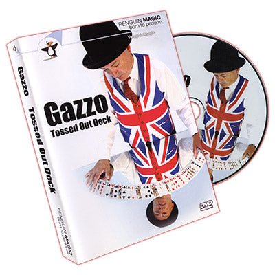 Gazzo Tossed Out Deck DVD(with Red Deck) by Gazzo - DVD