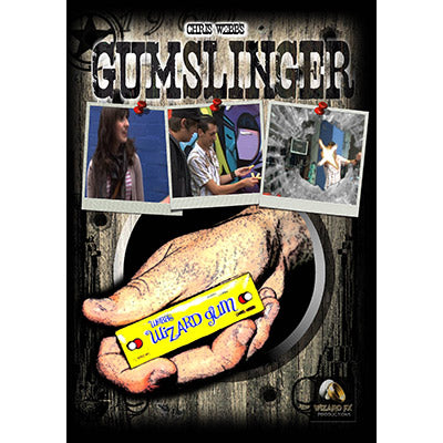 GumSlinger (DVD and Gimmick) by Chris Webb and World Magic Shop - DVD