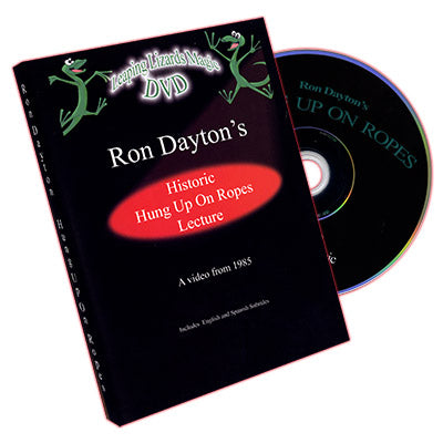 Hung Up On Ropes by Ron Dayton - DVD