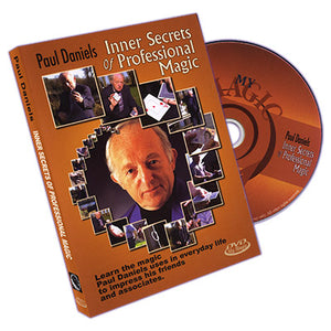 Paul Daniels' Inner Secrets Of Professional Magic - DVD