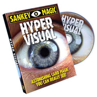 Hypervisual (With Cards) by Jay Sankey - DVD